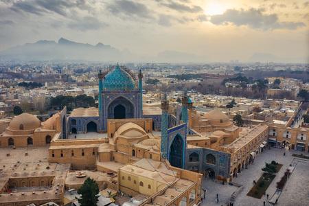 Naqsh-e Jahan Square in Isfahan, Iran 版權商用圖片 - 119293427