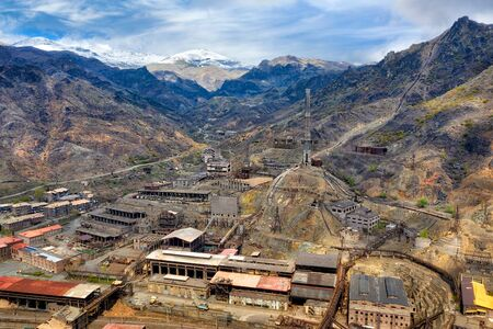 Alaverdi Copper Factory in Northern Armenia