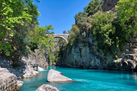 Tazi Canyon Blue River Imagens - 127018439
