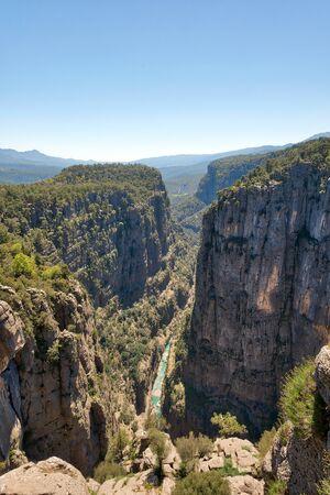 Tazi Canyon Blue River
