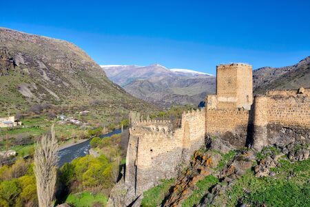 Khertvisi Fortress in Southern Georgia Imagens - 127996433