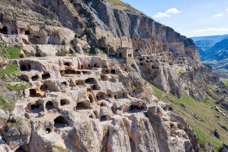 Vardzia Caves in Southern Georgia