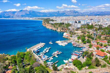 Antalya Harbor, Turkey Imagens