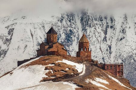 Gergeti Trinity Church in Northern Georgia