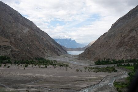 Karakoram Highway in the Northern Provinces of Pakistan, taken in August 2019