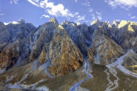 Karakoram Highway in the Northern Provinces of Pakistan, taken in August 2019 Reklamní fotografie