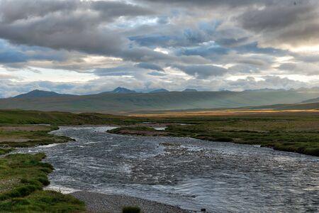 Carretera Karakoram en las provincias del norte de Pakistán, tomada en agosto de 2019