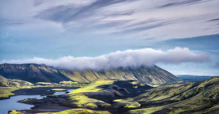 Highlands in Southern Iceland taken in August 2020, post processed using exposure bracketing