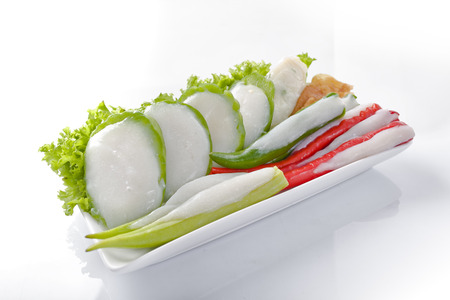 アジア料理 Yong Tau Foo やニアン ドウ フー