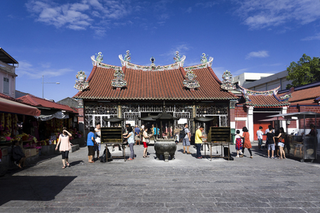 goddess of mercy: Chinese Kuan Yin Teng, or Temple of the Goddess of Mercy in Penang, Malaysia Asia
