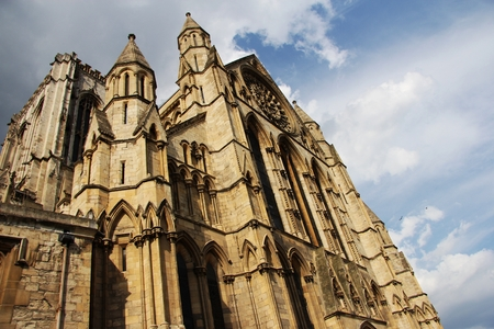 york minster: York Minster - Yorkshire, UK. Stock Photo