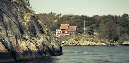 gothenburg: beautiful archipelago of Gothenburg in Sweden