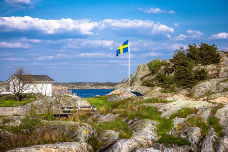 swedish archipelago with lot of pretty little islands - Gothenburg Sweden