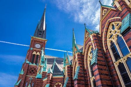 Gothenburg and the Oscar Fredrik Church.