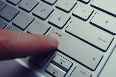 digitization: German silver notebook QWERTZ keybord