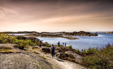 gothenburg: swedish archipelago with lot of pretty little islands - Gothenburg Sweden
