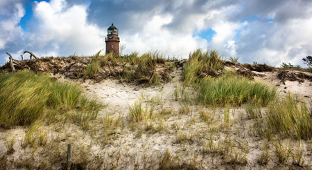 mecklenburg western pomerania: Lighthouse Prerow - Mecklenburg-Western Pomerania, Germany