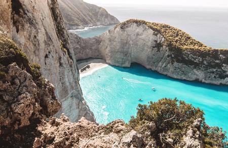 Shipwreck beach - Zakynthos, Greece.