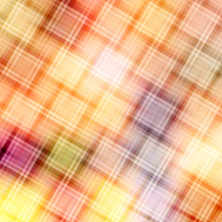 Pattern of diagonal blurred cubes in warm colors photo
