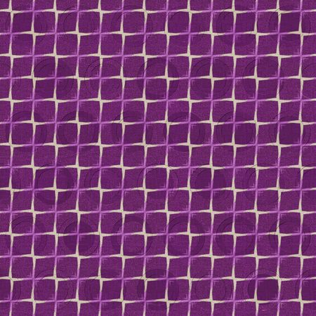 seamless texture of purple cloth on beige canvas photo