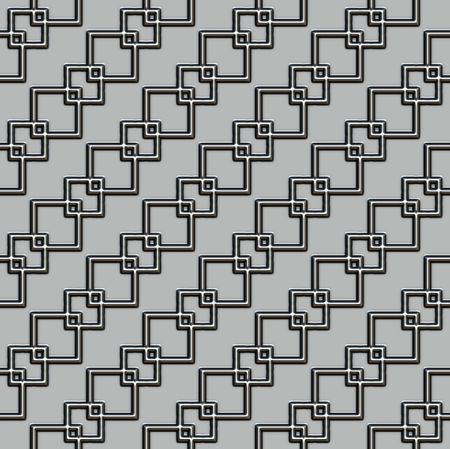 metall texture: diagonal metall cube chain texture on grey background
