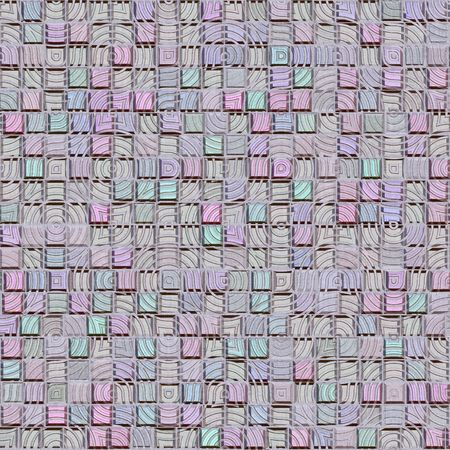 industrial complex: texture of many plastic pastel colored cubes