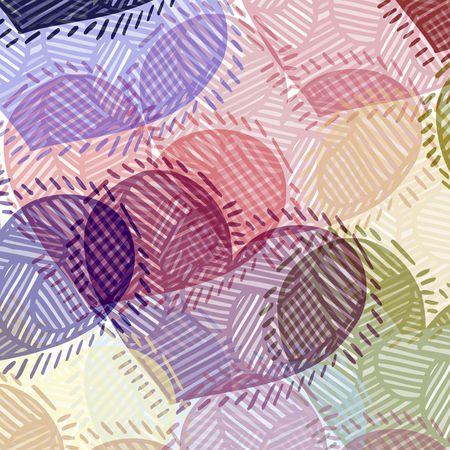 texture of colored and striped grunge hearts Stock Photo - 4389015