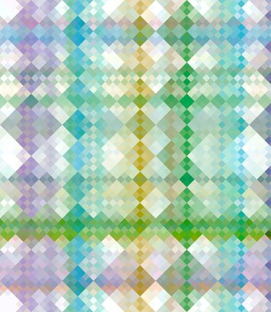 colorful seamless texture of checks, partly in rows
