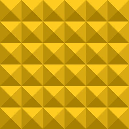 seamless texture of gold squares splitted in triangles photo