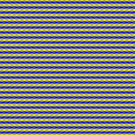 seamless texture of many blue or yellow arrows intertwined Stock Photo - 4509614