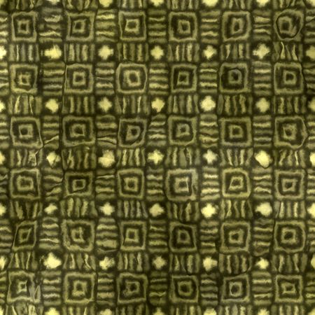 seamless texture of stripes and squares in grunge native style photo