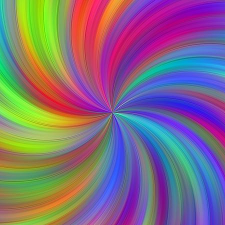 centered: texture of many bright colors in a centered whirlpool