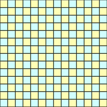 seamless 3d texture of light blue and yellow clean tiles Stock Photo - 4635505
