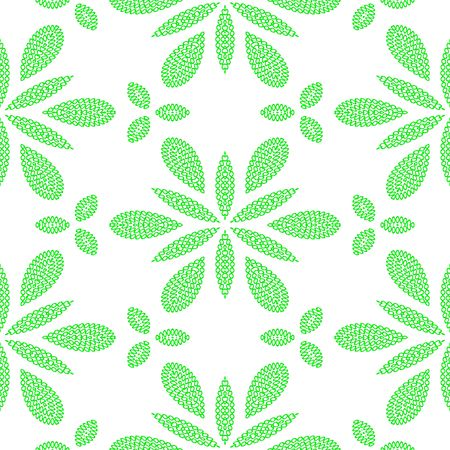 seamless texture of green marijuana weed leaves Stock Photo - 4654650
