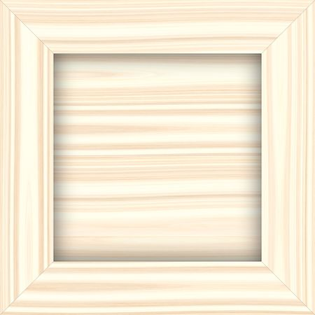 square structured frame in light wood color Stock Photo - 4685722