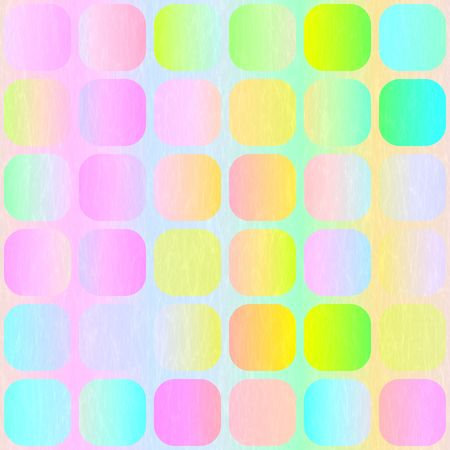 vibrant pastel colored blocks with light woven imprint  photo