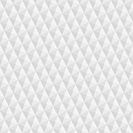 repeat square: seamless texture of grey to white squares and triangles giving optical illusion Stock Photo