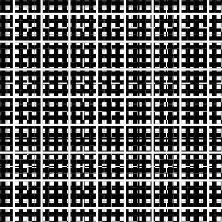 gaze: seamless texture of black and white gaze on eachother