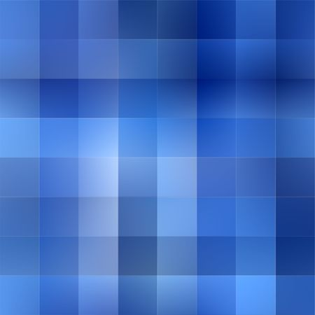 texture of squares in different cool blue colors photo