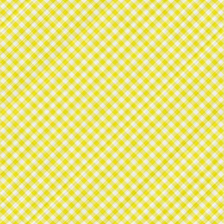 tissu blanc: texture homog�ne de jaune et blanc bloqu� tissu tartan