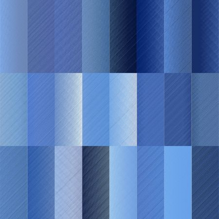 seamless texture of different blue textured square shapes  photo