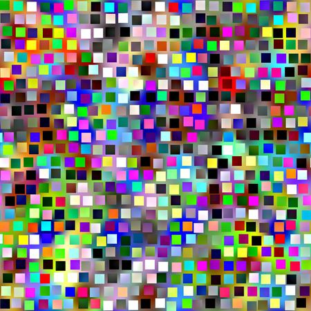 seamless texture of vibrant colorful blocks and squares