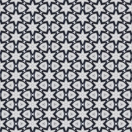 seamless texture of metallic shapes on white background Stock Photo - 5107285