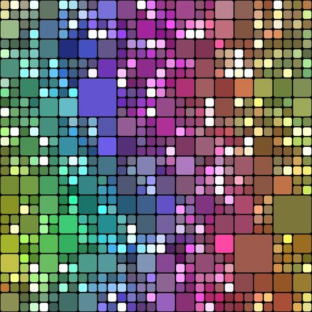 seamless texture of cubes in different colors