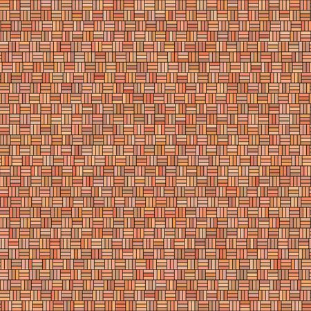 seamless texture of little blocks in warm colors
