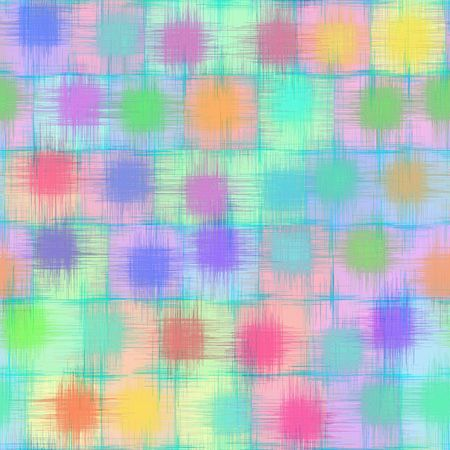 seamless texture of scratched shapes in many soft colors