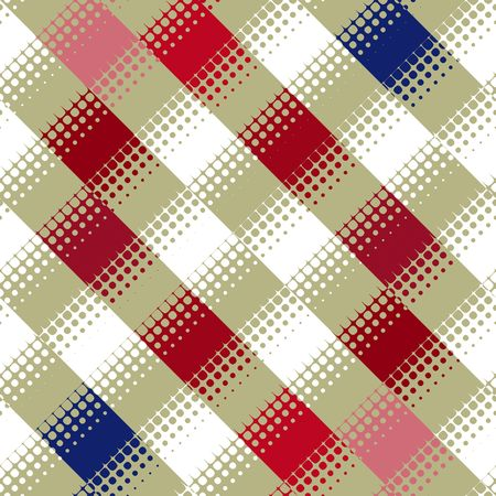 texture of diagonal squares with dots pattern