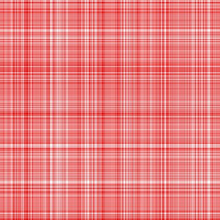 seamless texture of woven square red lines on white Stock Photo