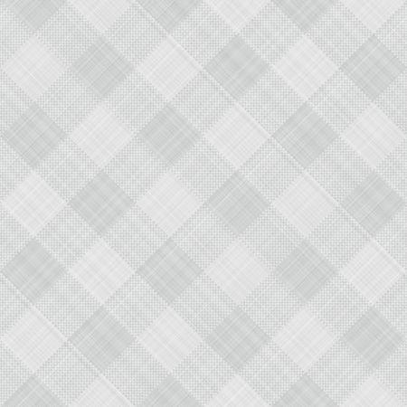 tissu blanc: sans soudure texture de drap gris et blanc bloqu� tartan