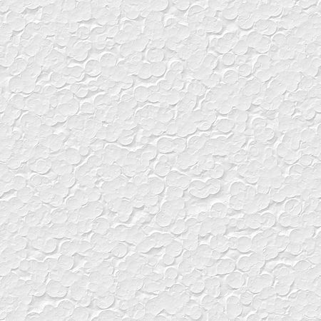 seamless texture of white polystyrene surface in closeup